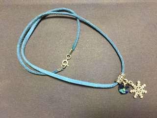 Frozen theme Swarovski necklace