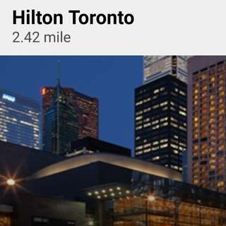 Hilton Toronto  hotel discount