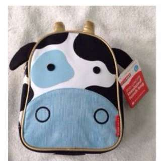 Skip Hop Zoo Lunchie Insulated Lunch Bag Cow
