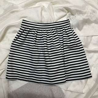 FOREVER21 striped skirt