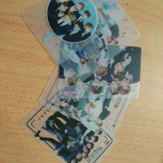 BTS Transparent Card