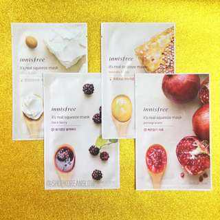 Innisfree Masks Set of 4