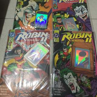 Robin II - The Joker's Wild (Complete 4 issue miniseries) 1991