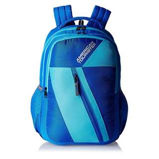 American Tourister by Samsonite Large Unisex Backpack- blue/ sky blue (Converted SRP of 3,109Php + )