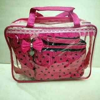 4 in 1 Cosmetic set bag