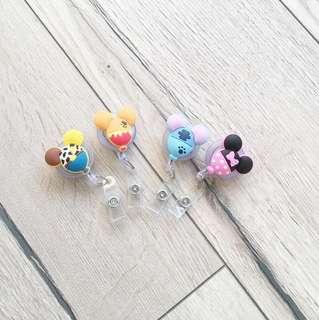 🚚 [新品]迪士尼造型QQ氣球伸縮扣