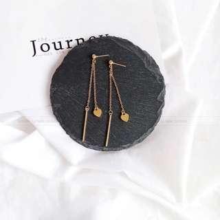 Katie earrings - silver or gold