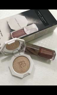 ORIGINAL FENTY BEAUTY BOMB BABY Mini Lip and Face Set