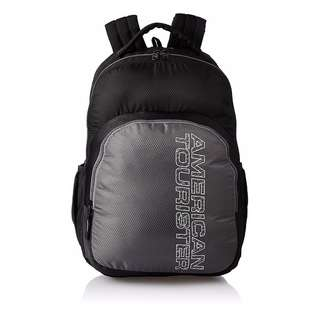 American Tourister by Samsonite Large Unisex Backpack- Black (Converted SRP of 3,109Php + )