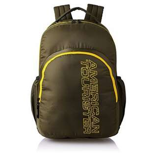 American Tourister by Samsonite Large Unisex Backpack -Olive green  ( Converted SRP of 3, 109Php + )