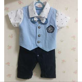 Baby Boy Formal Tuxedo Suit Clothes (3-6 months)