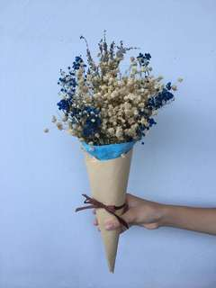Dried Baby Breath Bouquet