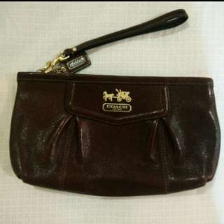 Coach Wristlet (100% Authentic)