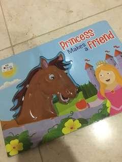 Princess makes a friend