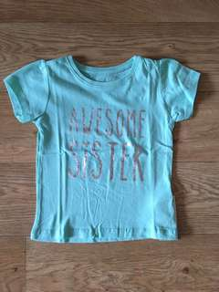 [preorder-april] Primark 6-36mth girls tshirt