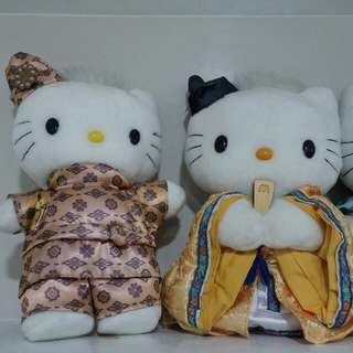 Hello Kitty Special Collection (A set of six Hello Kitties)