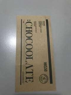 Chcoloate 現金卷 $50