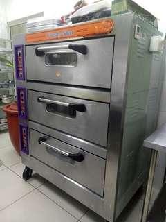 Fresh star 3 tier oven