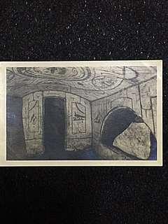 Vintage Postcard Catacombe Ebraiche Unused