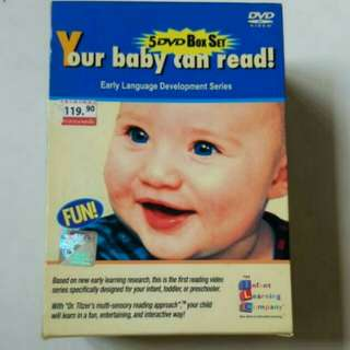 ♳Your Baby Can Read! Early Language Development Series (5 DVD Box Set)