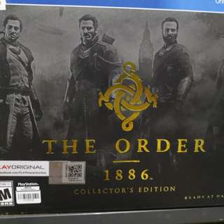 The order 1886 Collector edetion