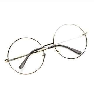 Kacamata Bulat(Design Korea) Pria dan Wanita -model vintage(group)-bulat