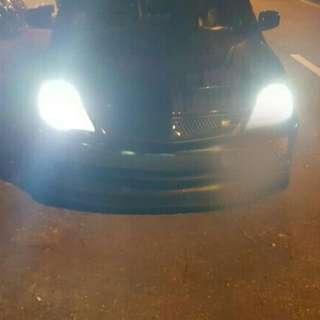 CS3 on s2 H4 led headlight