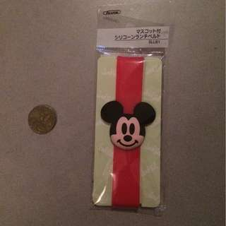Mickey mouse lunchbox runner band.