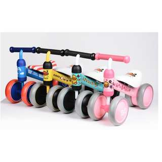 🔥Ready Stock🔥Luddy Mini Bike Tricycle Baby Toddler Balance Bicycle