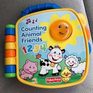 Fisher Price Electronic Book - Counting Fun!