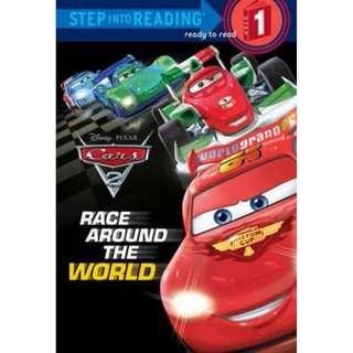 (Brand New) Cars 2 : Race Around the World (Step into Reading Books Series : Step 1)  By: Random House Disney Paperback
