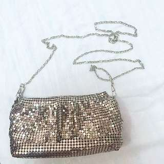 Metallic party/prom bag