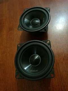 """4"""" epsilon mid bass speaker"""