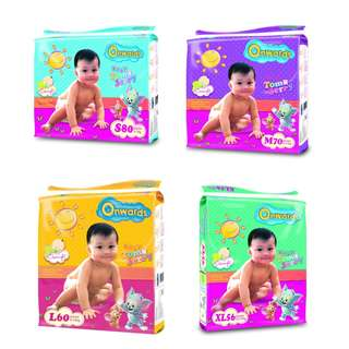 Onwards & KCA Baby Diapers ***CHEAPEST IN SG***