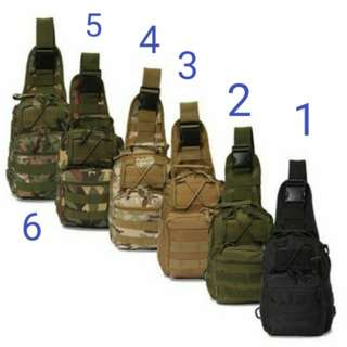 Tactical Military Sling Single Shoulder Chest Bag Pack camping hiking Backpack climbing bag