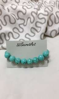 Blue Turquoises Admire Bracelet Handmade