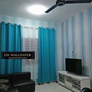Wallpaper pvc sticker