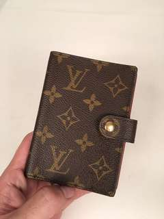 Authentic Louis Vuitton Monogram Agenda