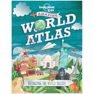 @(Brand New) Amazing World Atlas Bringing The World to Life  By: Lonely Planet -  Hardcover