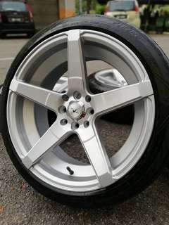 New mix cv3 17 inch sports rim person tyre 70%.
