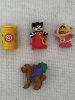 Macdonald figurines