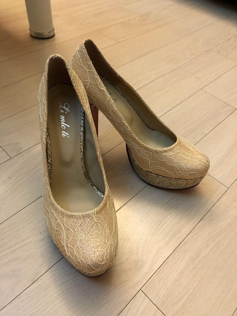 全新-新娘高跟鞋