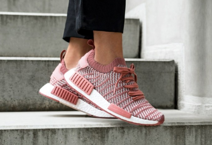 the best attitude 0024a 8cbe1 Adidas NMD R1 PK STLT W Womens Ash Pink Orchid Tint, Women's ...