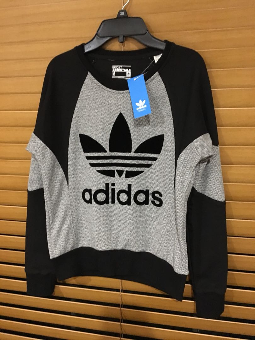 ADIDAS ORIGINALS fitted jumper