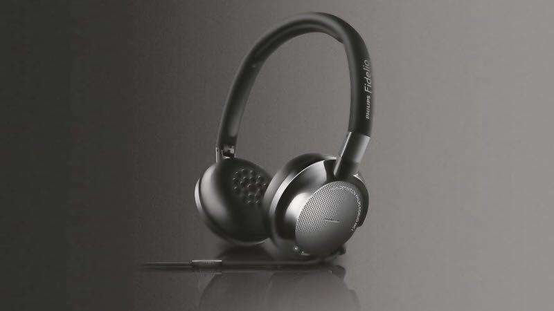 BNIB Philips Fidelio Noise Cancelling Headphones with Mic