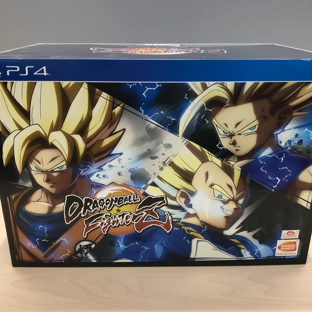 dragon ball fighterz collectors edition