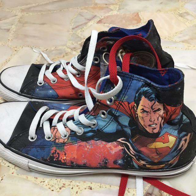 7c4cd3d372c5 Converse All Stars Superman Shoes