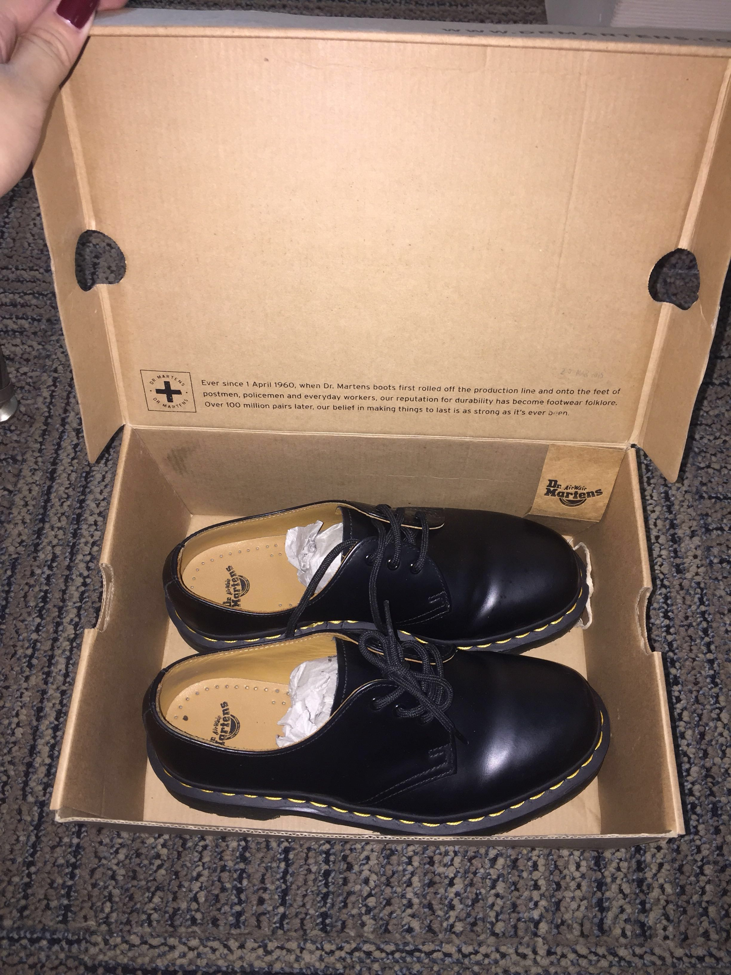 Dr. Martens Black Noir Smooth
