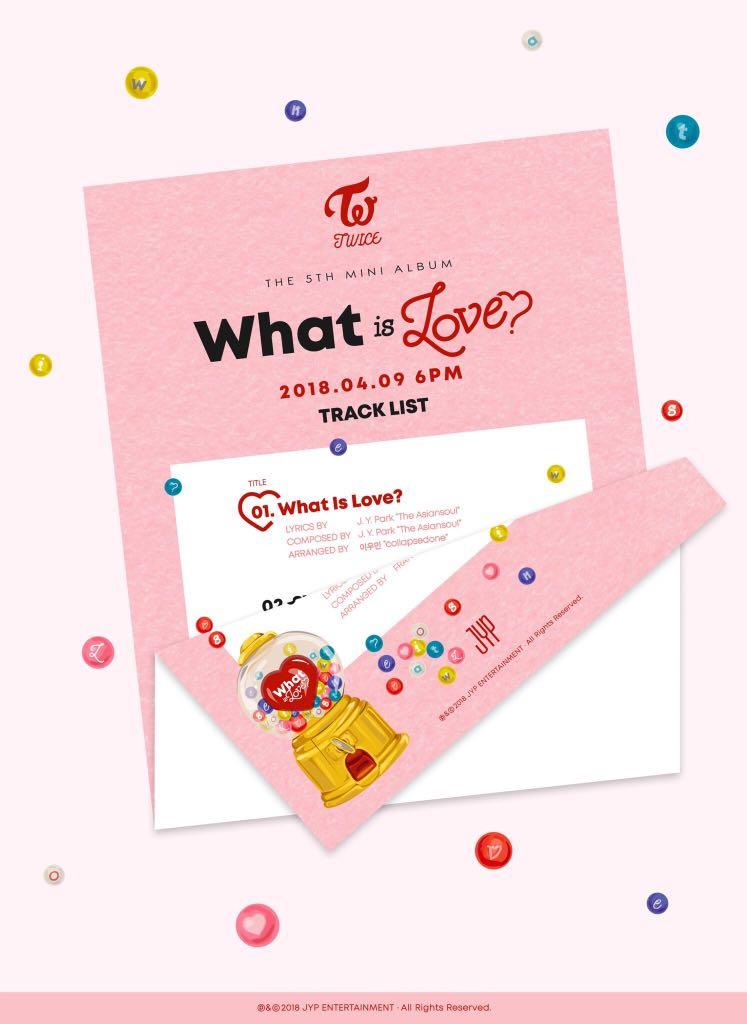 [EMS PO] twice 5th mini album - what is love ?