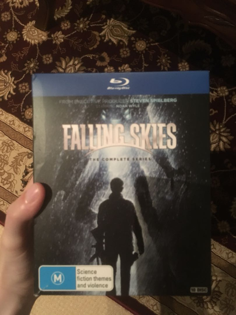 Falling Skies blu ray seasons 1-5